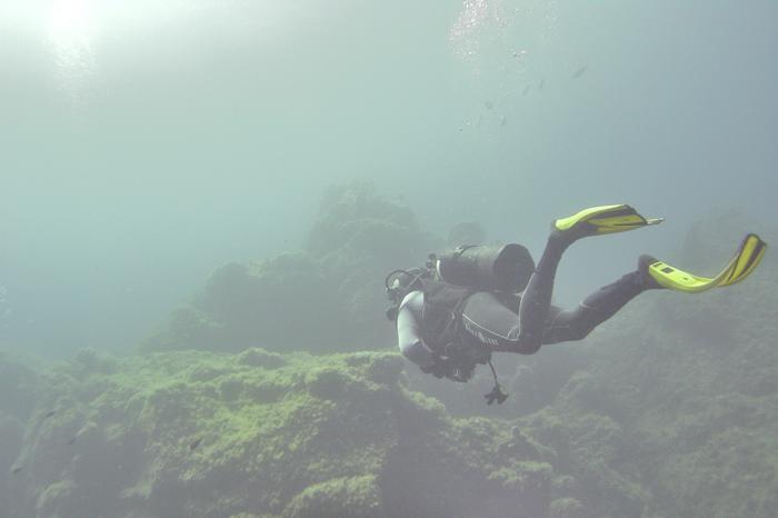Promenade sous-marine (Failles du Danger - Sant'Ambroggio)